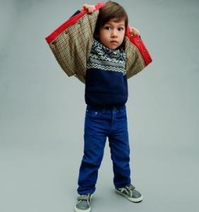 GAP. בגדי בנים במתיקות מעודנת